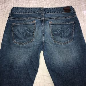 EXPRESS JEANS BOOT CUT SIZE 4 LONG
